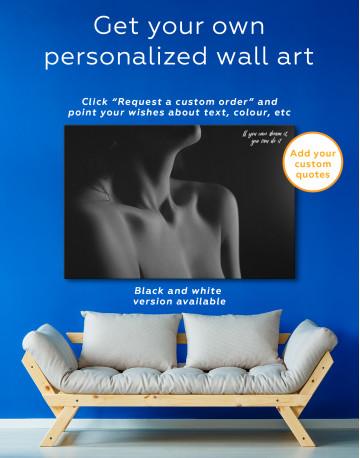Erotic Woman Body Canvas Wall Art - image 7