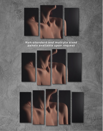Erotic Woman Body Canvas Wall Art - image 5