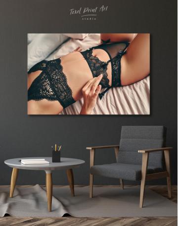 Erotic Female Body Canvas Wall Art - image 7