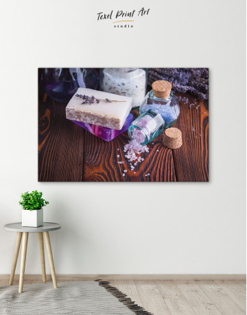 Spa Soap and Salt Canvas Wall Art - image 7
