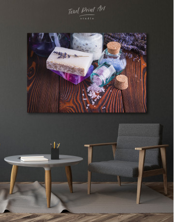Spa Soap and Salt Canvas Wall Art - image 4