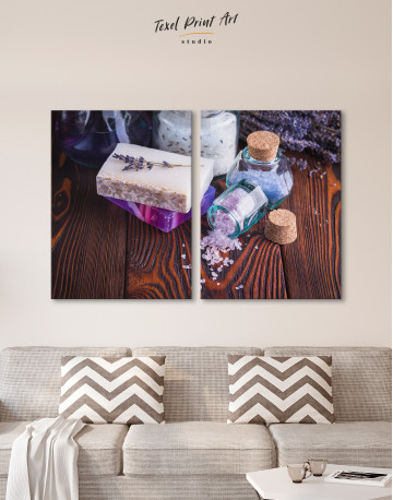 Spa Soap and Salt Canvas Wall Art - image 10