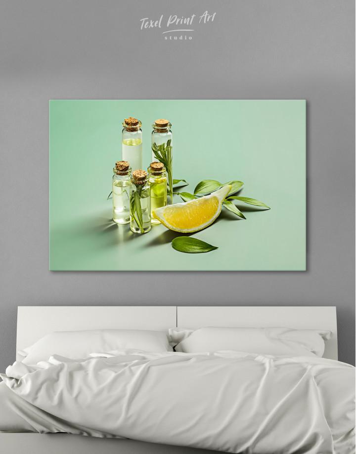 Spa Massage Oil Canvas Wall Art