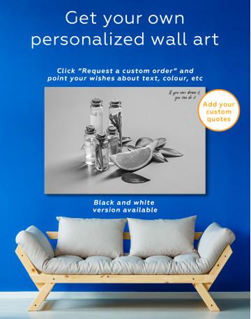 Spa Massage Oil Canvas Wall Art - image 7