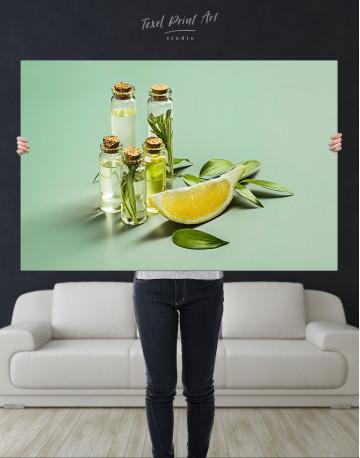 Spa Massage Oil Canvas Wall Art - image 1