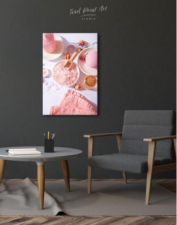 Pink Salt Canvas Wall Art - image 3