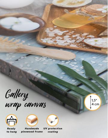 Zen Bathroom Accessories Canvas Wall Art - image 2