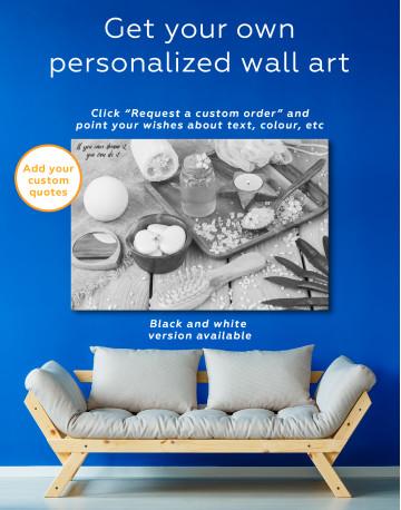 Zen Bathroom Accessories Canvas Wall Art - image 3