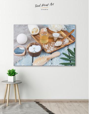Zen Bathroom Accessories Canvas Wall Art - image 4