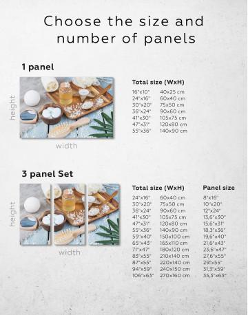 Zen Bathroom Accessories Canvas Wall Art - image 8