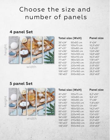Zen Bathroom Accessories Canvas Wall Art - image 9