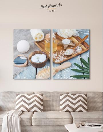 Zen Bathroom Accessories Canvas Wall Art - image 1