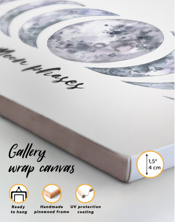 Moon Phases Canvas Wall Art - image 2