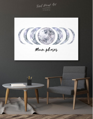 Moon Phases Canvas Wall Art - image 6