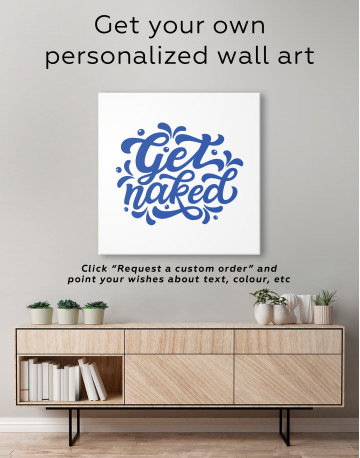 Get Naked Canvas Wall Art - image 4