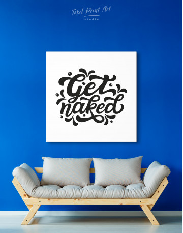 Get Naked Canvas Wall Art - image 3
