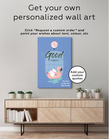 Good Vibes Canvas Wall Art - image 4