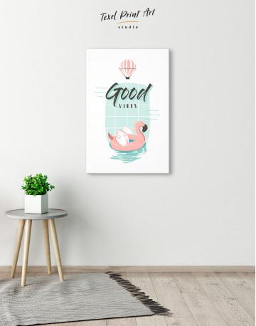 Good Vibes Canvas Wall Art - image 1