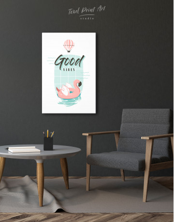 Good Vibes Canvas Wall Art - image 2