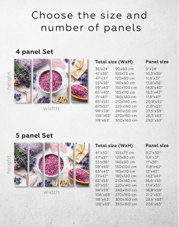Spa Equipment Canvas Wall Art - image 1