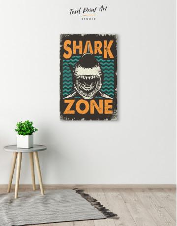 Shark Zone Canvas Wall Art - image 6