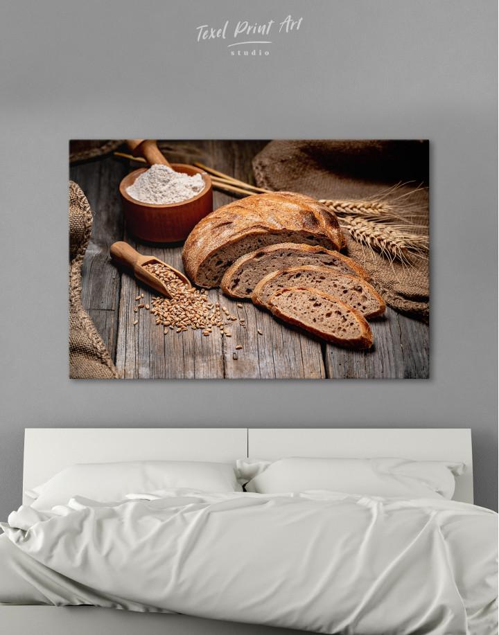 Fresh Bread Canvas Wall Art