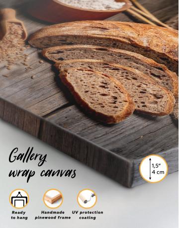 Fresh Bread Canvas Wall Art - image 8