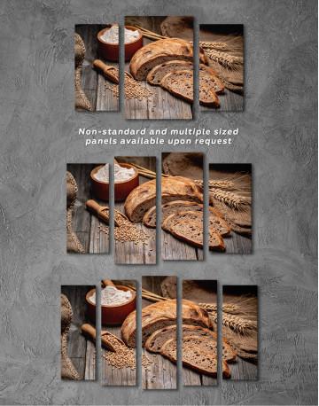 Fresh Bread Canvas Wall Art - image 5