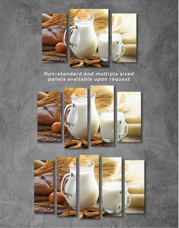 Bread with Milk Canvas Wall Art - image 5