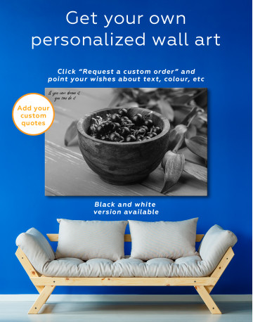 Black Currant Bowl Canvas Wall Art - image 7
