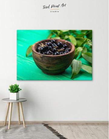 Black Currant Bowl Canvas Wall Art - image 6
