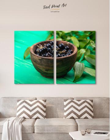 Black Currant Bowl Canvas Wall Art - image 9