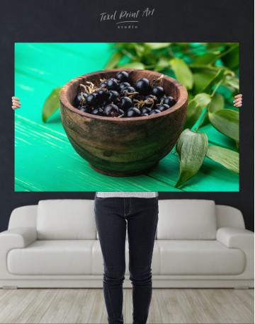 Black Currant Bowl Canvas Wall Art - image 10