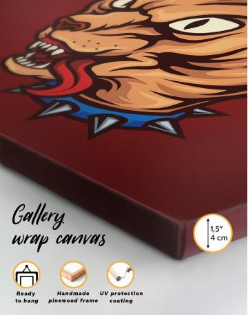 Punk Sphinx Cat Canvas Wall Art - image 4