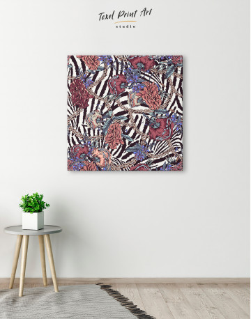 Roses with Chain Canvas Wall Art - image 5