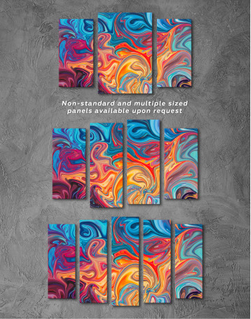 Colorful Marble Canvas Wall Art - image 5