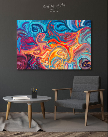 Colorful Marble Canvas Wall Art - image 6