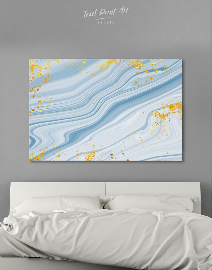 Blue Marble Canvas Wall Art