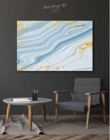 Blue Marble Canvas Wall Art - image 4