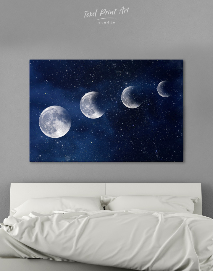 Eclipse of the Moon Canvas Wall Art