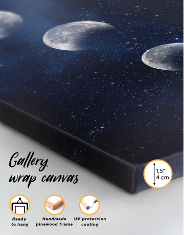Eclipse of the Moon Canvas Wall Art - image 3