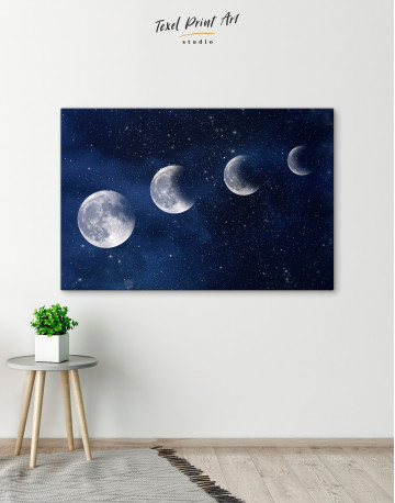 Eclipse of the Moon Canvas Wall Art - image 5