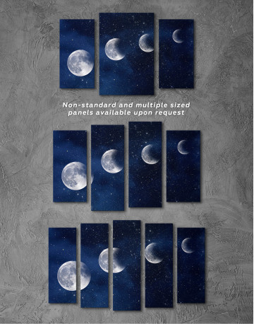 Eclipse of the Moon Canvas Wall Art - image 6