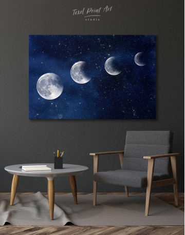 Eclipse of the Moon Canvas Wall Art - image 7