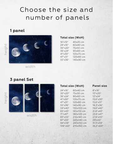 Eclipse of the Moon Canvas Wall Art - image 9