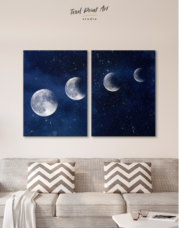 Eclipse of the Moon Canvas Wall Art - image 2