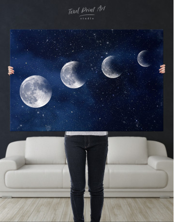 Eclipse of the Moon Canvas Wall Art - image 1