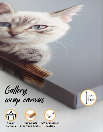 Cute Kitten Canvas Wall Art - image 8
