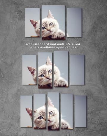 Cute Kitten Canvas Wall Art - image 3