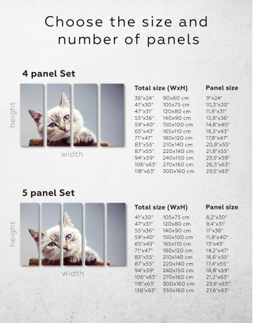 Cute Kitten Canvas Wall Art - image 6